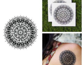 Tattify intrincado estilo Henna tatuaje temporal Pack por Tattify
