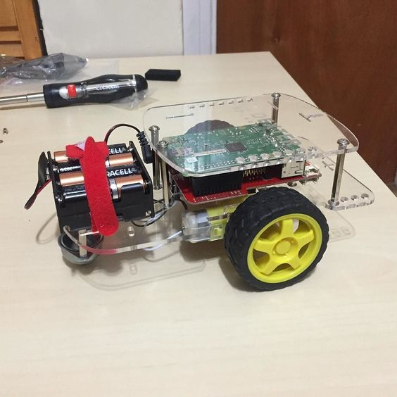 Something we loved from Instagram! My #gopigo is complete! #raspberrypi #raspberrypi2 by rasmurtech Check us out http://bit.ly/1KyLetq