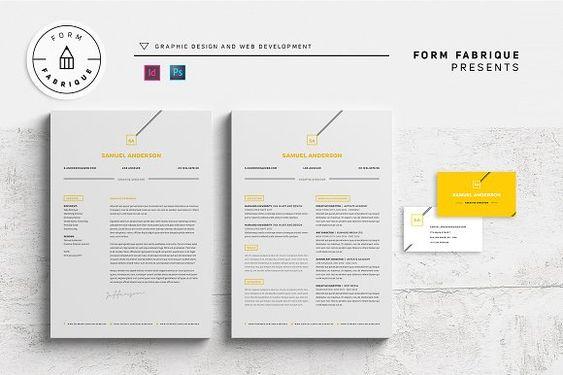 Resume/CV by Form Fabrique on @creativemarket Resume/CV - resume form