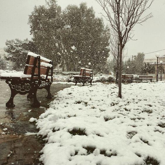 #snow # marousi #greece