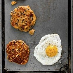 Savory Pancakes with Sausage, Cheddar