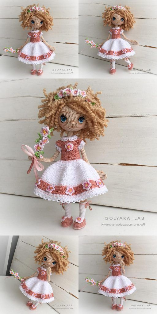 Amigurumi Cute Doll | Doll amigurumi free pattern, Crochet dolls ... | 1024x512