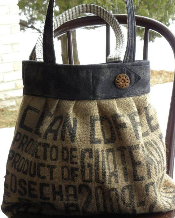 burlap tote by dakotamaid on etsy. it sold in march, but i am still in love with it.