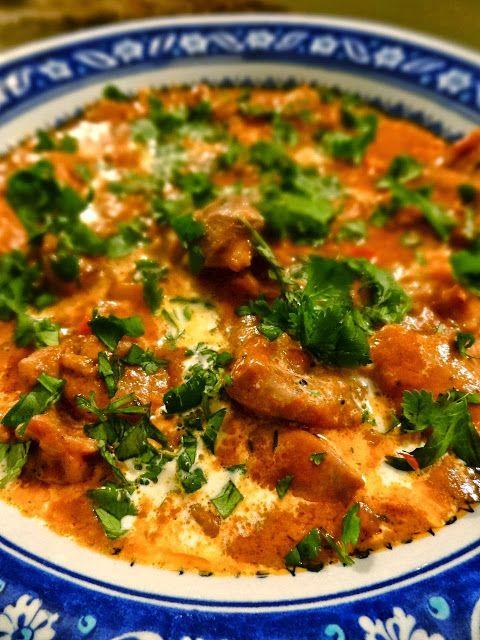 Mafe: West African Chicken Mafé in Peanut Sauce