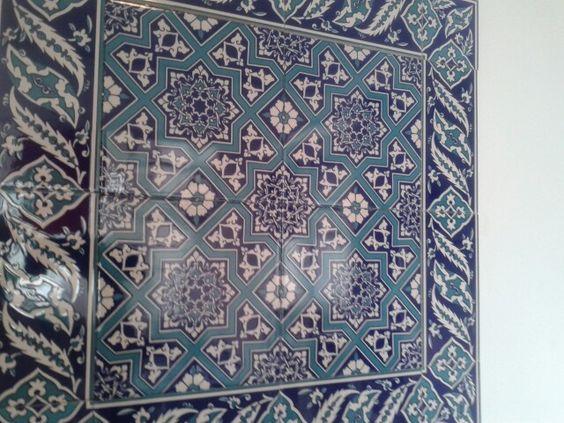 Turkish tiles in my daughters kitchen