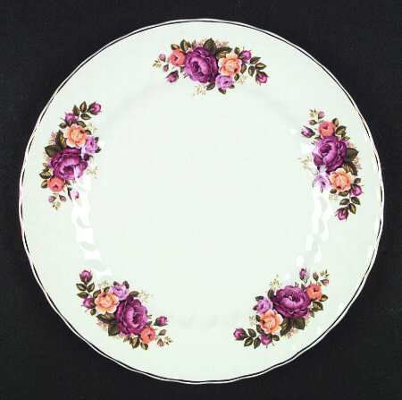 Vintage c.1960s Wood & Sons Cottage Rose pattern by BuyfromGroovy