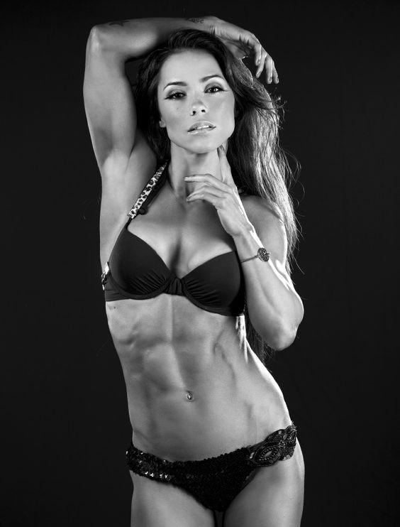 Fitness model Andreia Brazier
