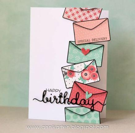 56 New Ideas Craft Birthday Cards Design Birthday Card Craft Birthday Cards Diy Birthday Card Drawing