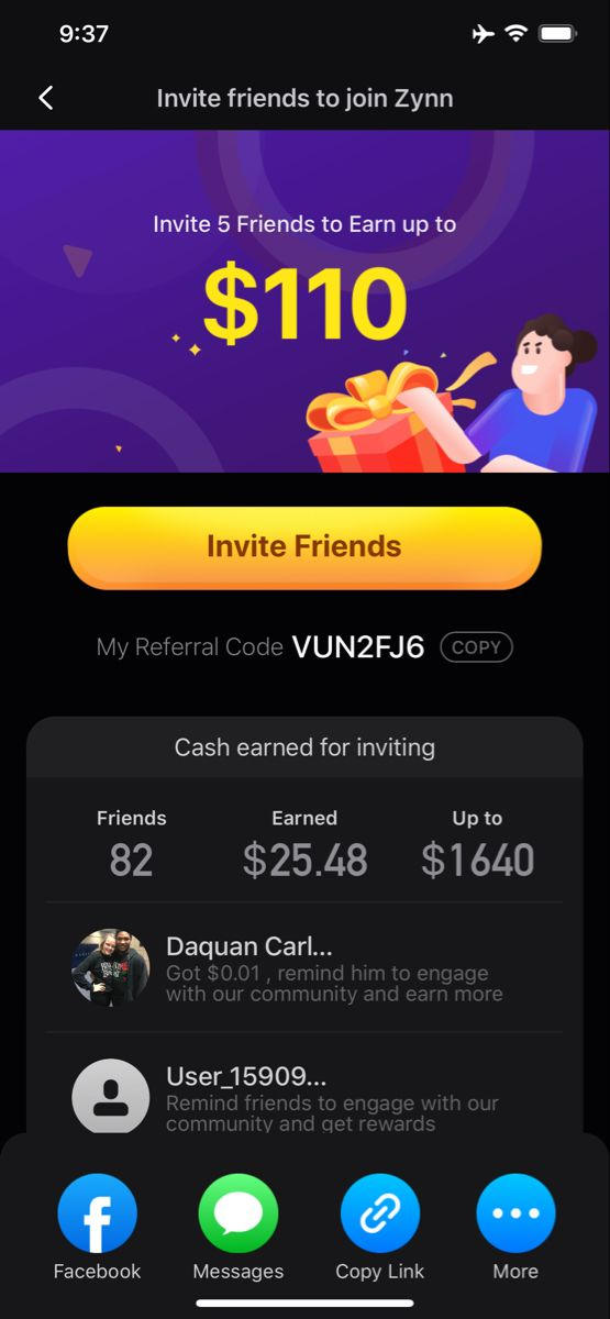 Earn Money Watching Tiktoks Use Code To Receive Money Money Apps Make Easy Money Easy Money