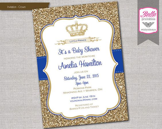 royal resolutions prince invitations baby shower invitations do you