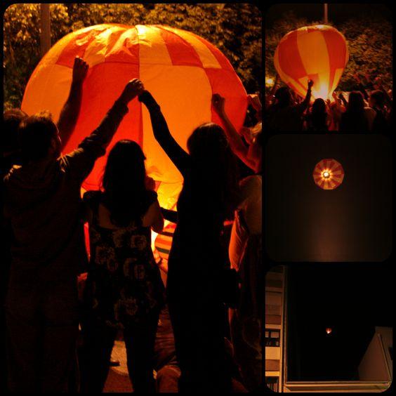 S. João - Lançamento do balão