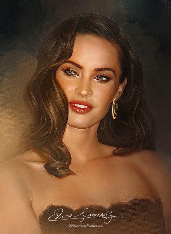 Pretty Face P2- Megan Fox by Amro0 on DeviantArt