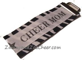 Cheer Mom Keychain in custom colors!