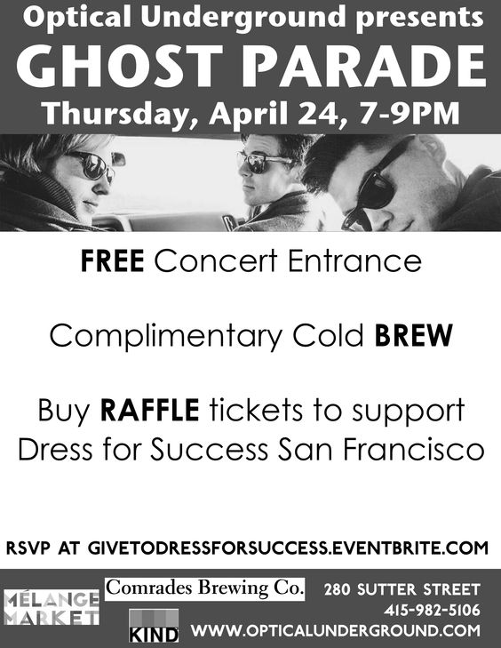 Concert Flier for Dress for Success, San Francisco: http://www.dressforsuccess.org/affiliate.aspx?sisid=114&pageid=1