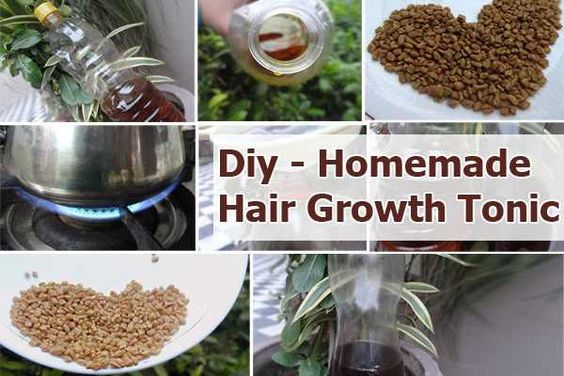 Forever Beautiful Forever Young: How to Make Your Own Hair Tonic for Growth, Health And Shine