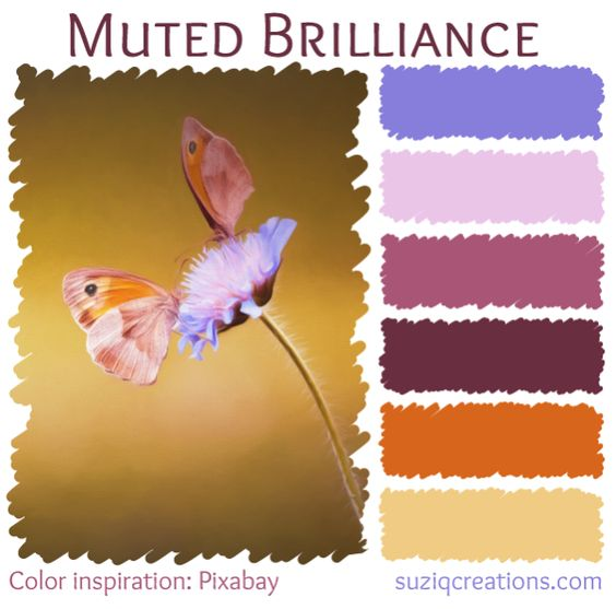 Muted Brilliance Color Palette