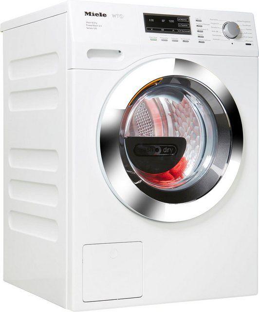 Waschtrockner Wtf115wcs D Lw 7 Kg 4 Kg 1600 U Min Miele Waschtrockner Wasche Und Trockner