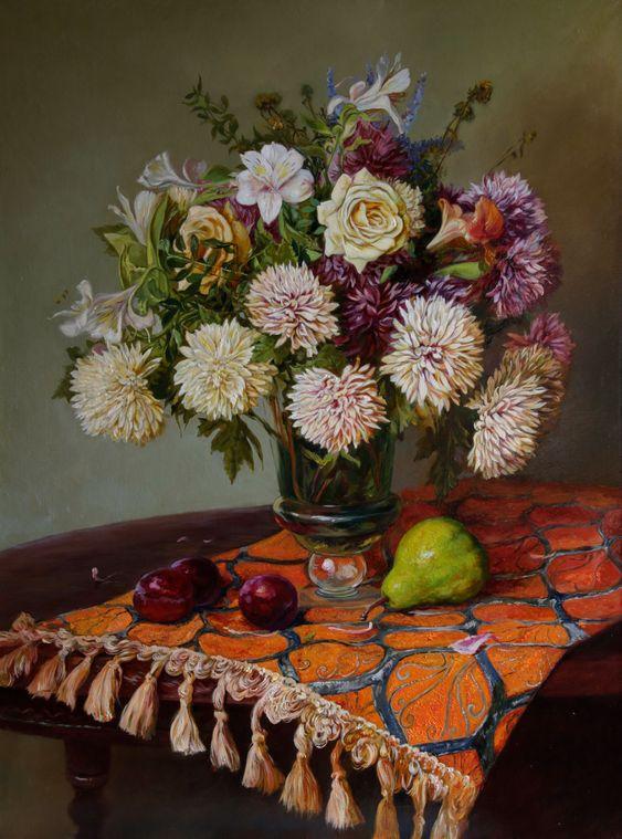 Eduard Panov. Flower bouquet. 2019