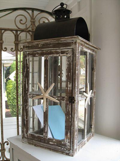 Lantern Wedding Centerpieces – Beach Wedding Card Boxes