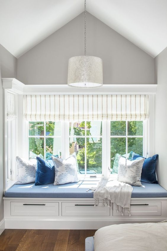 37 Cool Bay Window Decorating Ideas Window Seat Design Window Seat Cushions Reading Nook Window