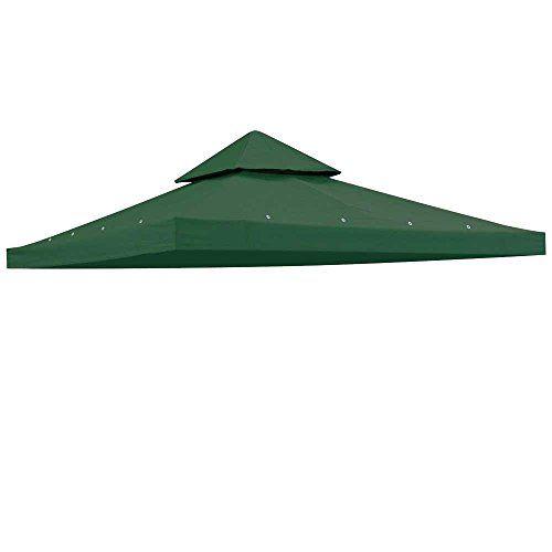 12X12 Gazebo Patio Canopy Top Replacement 2 Tier 200G Sqm Uv30 Outdoor Garden Cover