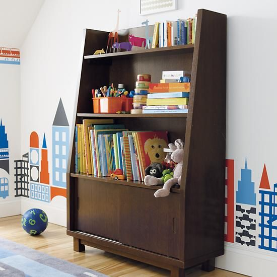 Oak Park Elementary Bookcase in Bookcases | The Land of Nod