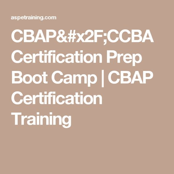 Ccba Online Study Exam Increase Your Odds Of Passing Reduce Exam