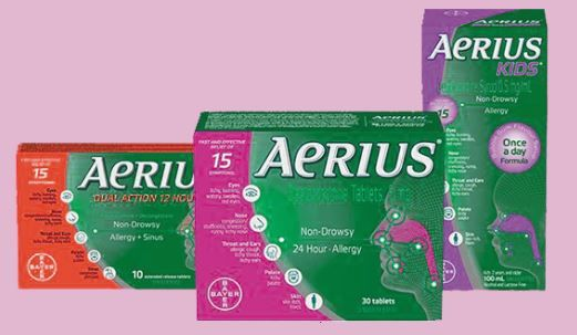 طبيبكم دواء Aerius ايريوس Allergies Sinusitis Gum