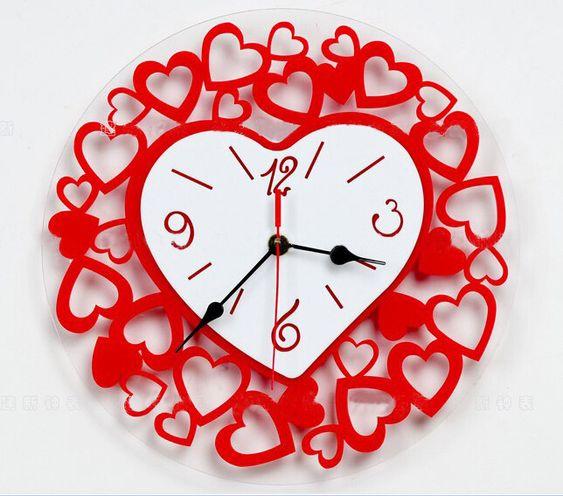 Imagenes de relojes en forma de corazon imagenes y for Imagenes de relojes