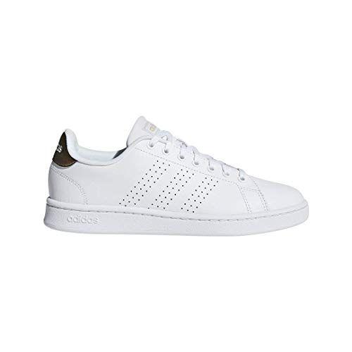 adidas Women's Cloudfoam Advantage Cl Sneaker, White/White ...