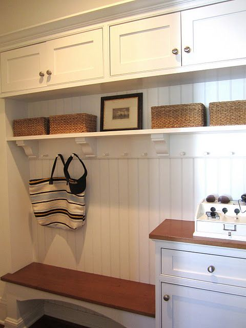 Entrance entrances mudrooms and staircases pinterest for Basement mudroom ideas