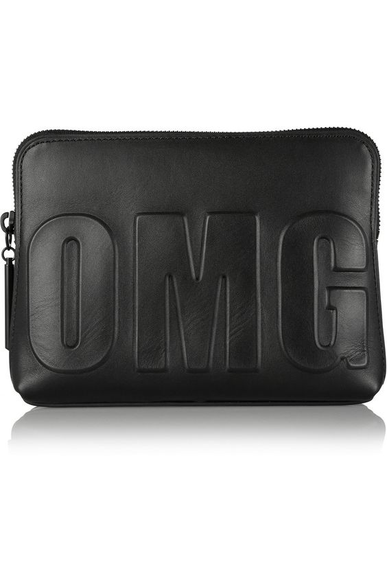 3.1 Phillip LimOmg 31 embossed leather clutch