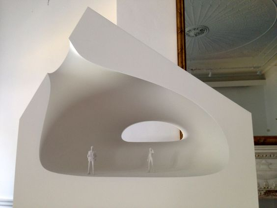 Models the o 39 jays and architecture on pinterest for Solid void theory architecture