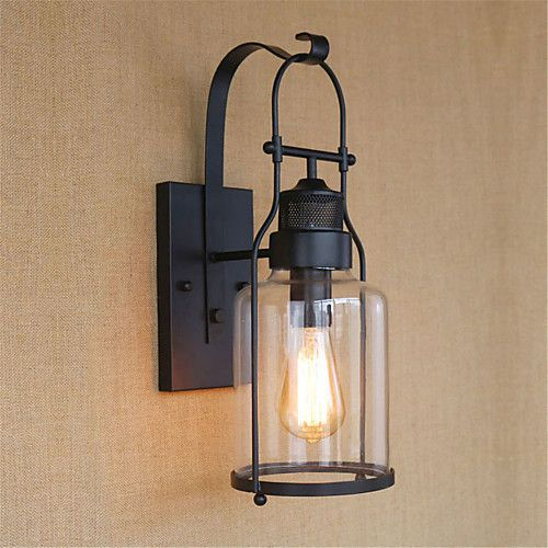 Rustic Lodge Country Retro Wall Lamps Sconces Metal Wall Light 110 120v 220 240v 40w 2020 Us 200 59 Metal Wall Light Farmhouse Wall Lighting Vintage Wall Lights