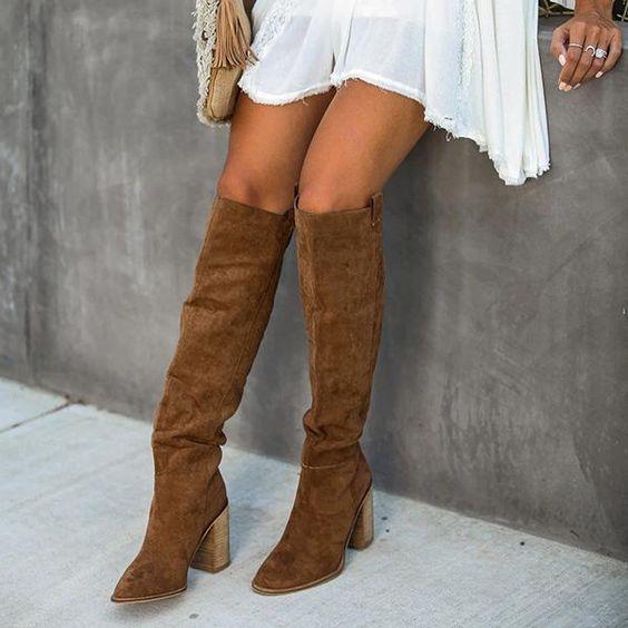 Bohemian Women Shoes | Boots, Slouched