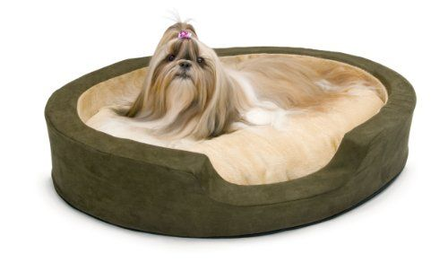 K H Manufacturing Thermo Snuggly Sleeper Heated Pet Beds Dog Bed Sizes Dog Bed