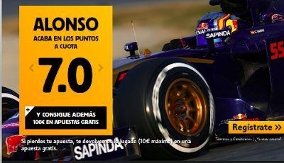 el forero jrvm y todos los bonos de deportes: betfair Alonso o Sainz Jr puntuan cuota 7 GP F1 Au...