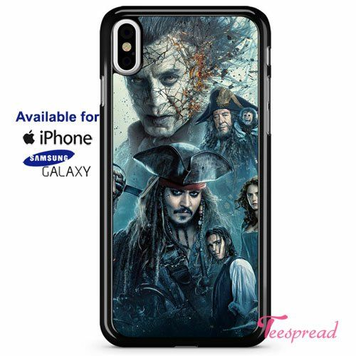 Pirates of The Caribbean Dead Men Tell No Tales iPhone X Cases ...