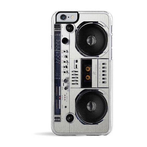 Boombox iPhone 6 Case | ZERO GRAVITY (77 BRL) ❤ liked on Polyvore featuring accessories, tech accessories, phone cases, phone, cases, iphone cases, zero gravity, apple iphone cases and iphone cover case