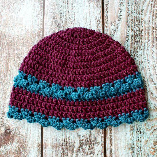 Crochet Hat Free Pattern Woman : Free Crochet Pattern - I Feel Pretty for Women, divine ...