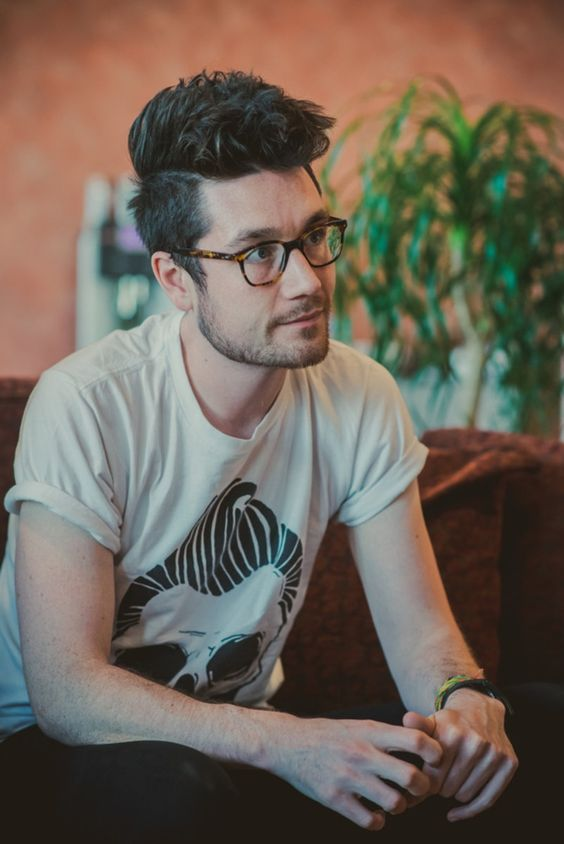Dan Smith....absolutely the most wonderful man in the world and somehow the glasses make him look even cuter *-* ♥♥