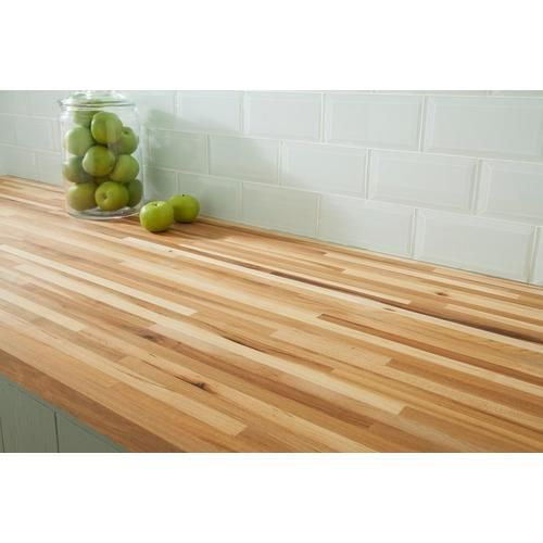 American Hickory Butcher Block Countertop 12ft Butcher Block