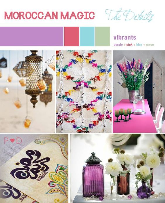 How to Make Moroccan Lanterns | Moroccan lanterns, either hanging up, lining walkways or ...: