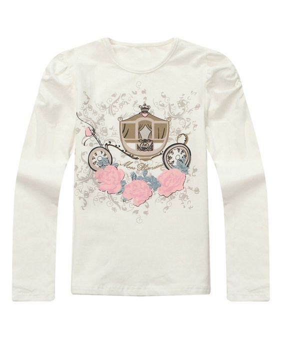 White Rose Coach Tee - Infant, Toddler & Girls by Richie House #zulily #zulilyfinds