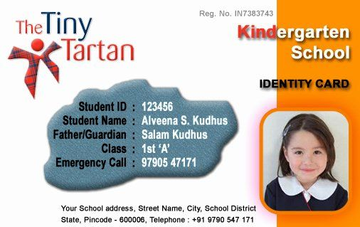 Free Child Id Card Template Luxury Id Cards Student Id Card Free Template Id Card Template School Id Card Template