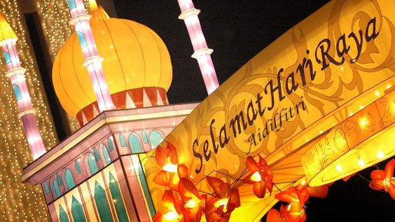 Lễ hội Hari Raya Aidilfitri rực rỡ
