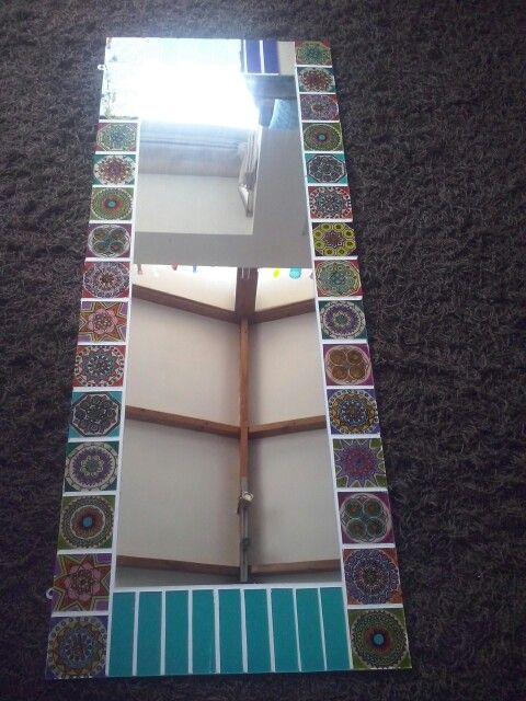 mandalas pintadas en vidrio ❤