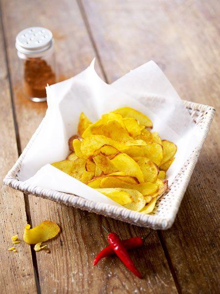 chips selber machen so geht 39 s schritt f r schritt party food und drinks pinterest chips. Black Bedroom Furniture Sets. Home Design Ideas