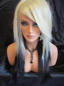 Magnificent Blonde Underneath Blondes And Purple Tips On Pinterest Short Hairstyles Gunalazisus