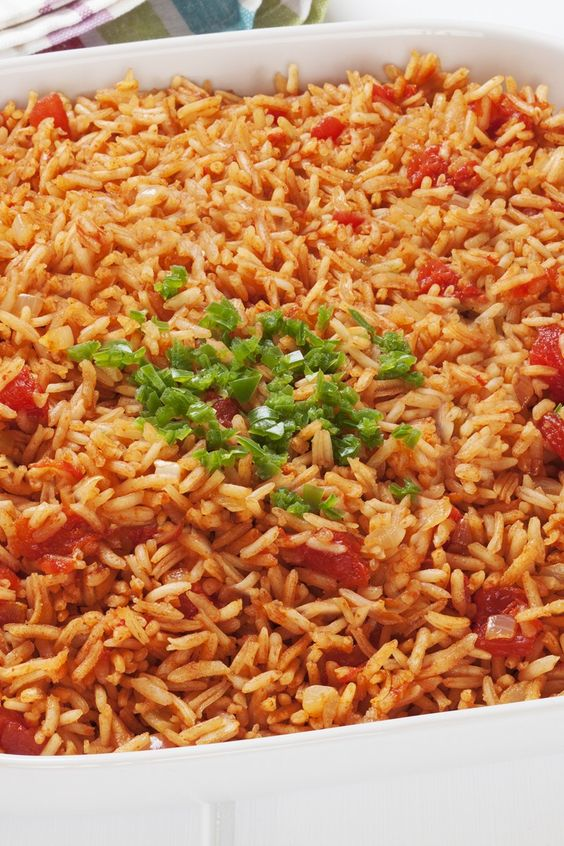 easy recipe for spanish rice and chicken